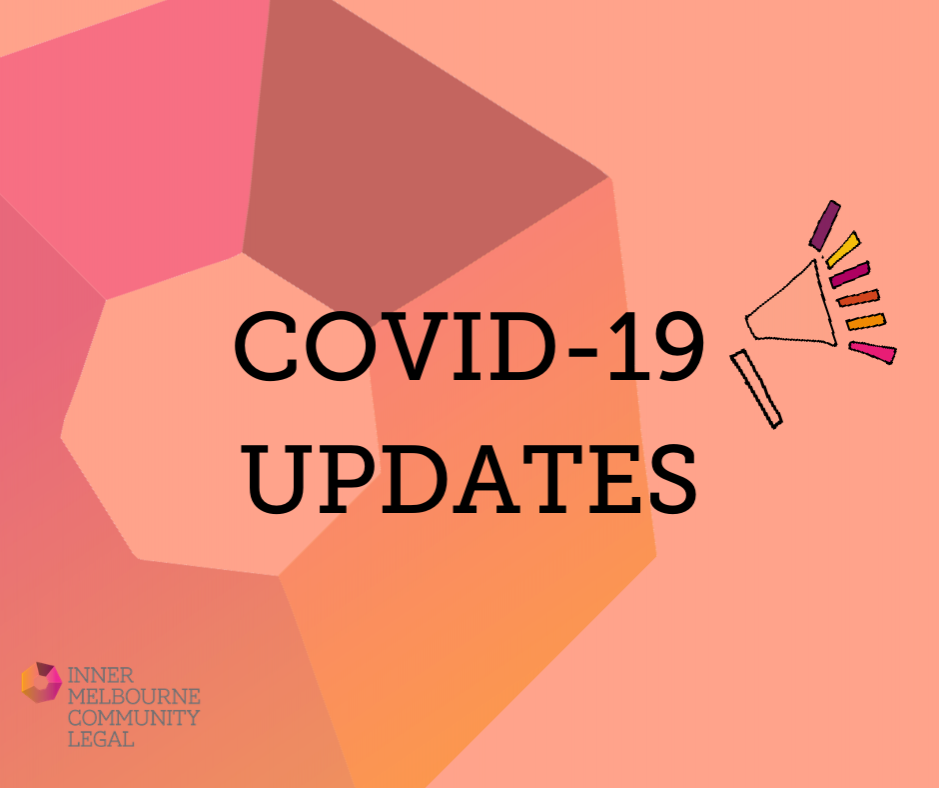 Template image with text saying COVID19 Updates