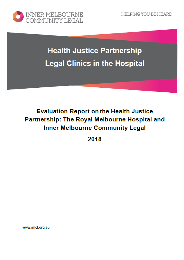 Health Justice Partnership Evaluation