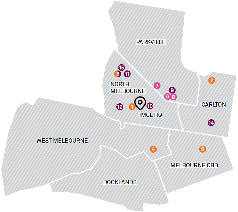 Sexual health clinic melbourne city map