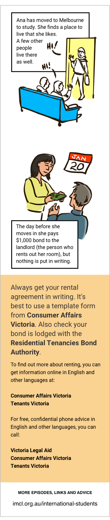 Episode 01: Making a rental agreement